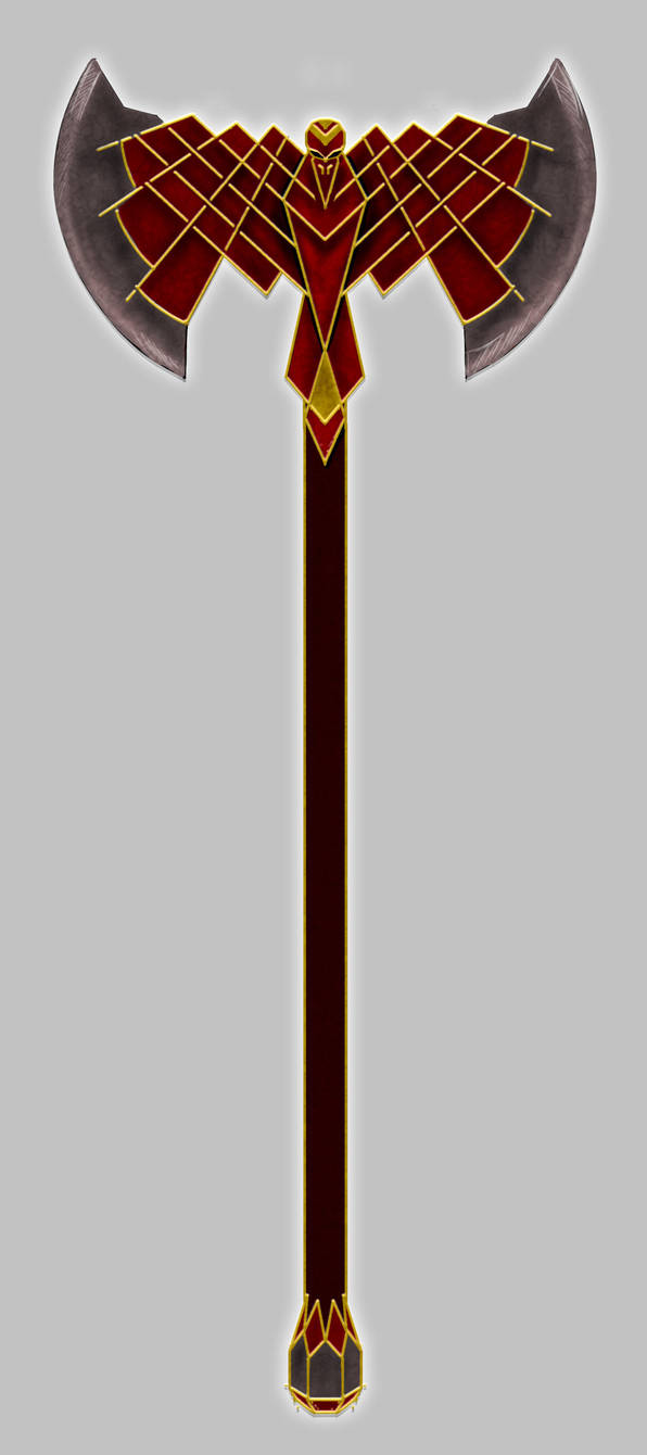 Dwarven Axe by MarionMorgenroth