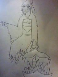 Sketch: Myst (ZFB Forum Character) by TheMadZocker
