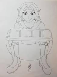 Giantess Malon/Cremia - 'Malon's Other Toy' by TheMadZocker