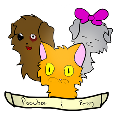 Poochee and Pansy by LemonMarang