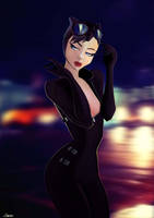 Catwoman by Caelys-illustrations