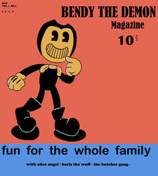 Bendy Mag by GG-The-Artist