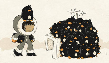 Penguins Are My Home by Bisparulz