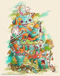 meet the yeti by Bisparulz