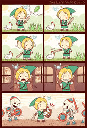 the legend of cucco by Bisparulz