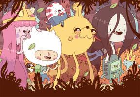 adventure team by Bisparulz
