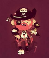 unusual pirate by Bisparulz