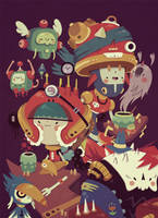 robotos by Bisparulz