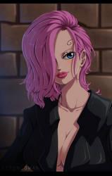 One Piece - Reiju Vinsmoke by AizenSowan