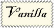 Vanilla stamp by AnimeElf7