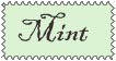 Mint Stamp by AnimeElf7