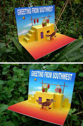 GREETINGS FROM SOUTHWEST by artistscompany