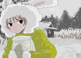 Snow Bunny by artistscompany