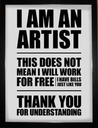Iamanartisti am an artist by Evlisking