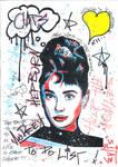 Audrey Hepburn by Evlisking