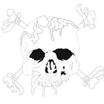 Smiley Bones by Evlisking