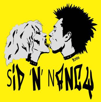 Sid N Nancy2 by Evlisking
