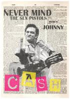 Johnny Cash Punk washout by Evlisking