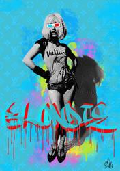 blondie 3D by Evlisking