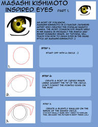 How to draw Naruto eyes pt1 by LilyArt2006