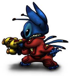 Stitch by InvaderTigerstar
