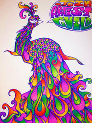 Join Artist Guild Peacock by DreamsOfDownfall