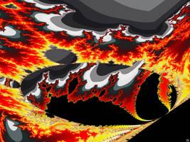 Burning from Inside by FractalMonster
