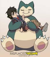 Big Hero Snorlax by RoosmaRoo