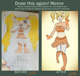 Draw this Again! -10 Years!- by JamminSam