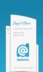 Dadonet Bussines card V2.0 by bbfunfactory