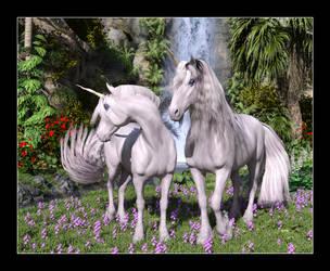 Unicorns of the Secret Glade by CitizenOlek