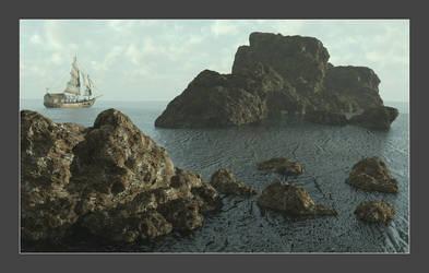 The Merchant Coast by CitizenOlek
