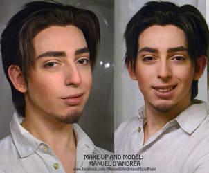 Flynn Rider Make-Up by Nocte-Angelus