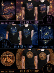Enchanted T-Shirts by Nocte-Angelus