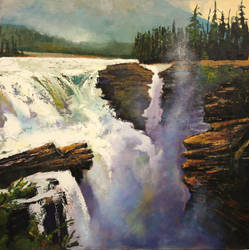 The Mighty Athabasca by artistwilder