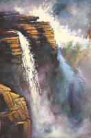 Athabasca Rocks by artistwilder