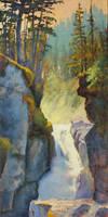 Nairn Falls by artistwilder