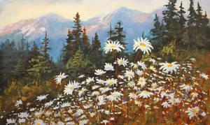 Wildflower Meadow by artistwilder