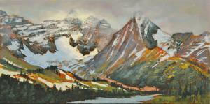 Parker Ridge Highway study by artistwilder
