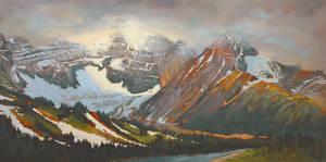 Parker Ridge From The Highway by artistwilder