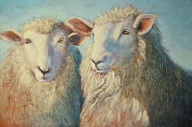 Ewe'll Thread Softly by artistwilder