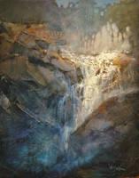 Uphill Cascade by artistwilder
