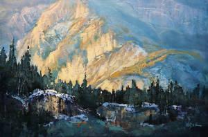 Mountainside Display by artistwilder