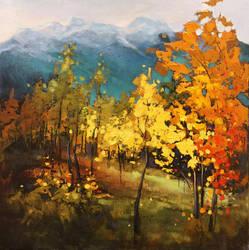 Kananaskis Color by artistwilder