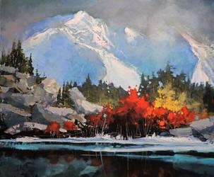 Mountain Reds by artistwilder