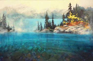 Diamonds In The Mist by artistwilder