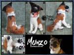 Needle Felted Japanese Akita dog Munzo by FabledFelts