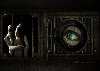 In Jail by MissGrib