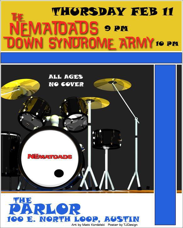 Nematoads Poster