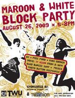 Block Party Flyer by WildeGeeks